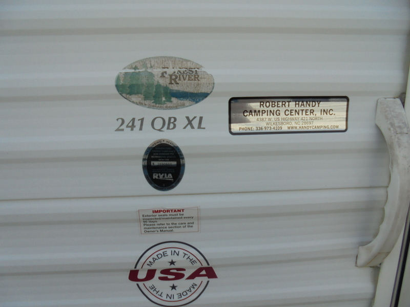 Pre Owned Camping Trailers in the Yadkin Valley.