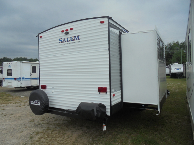 New Travel Trailer in North Wilkesboro, North Carolina.