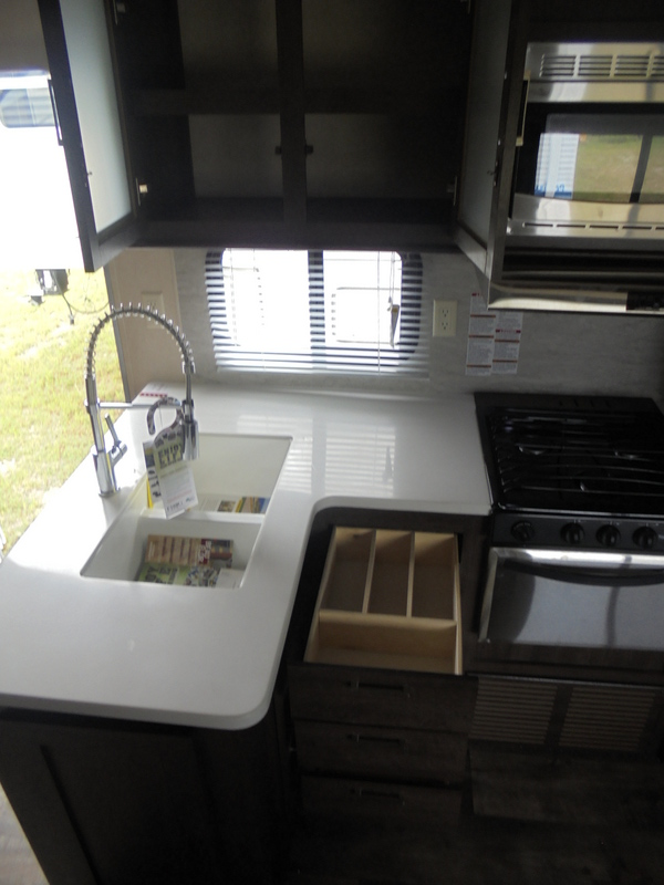 New Travel Trailer in the Yadkin Valley.