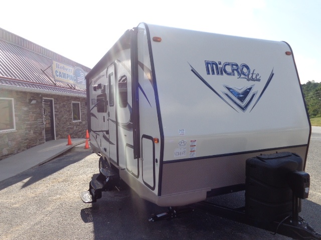 New Travel Trailer near Ashe County, NC.