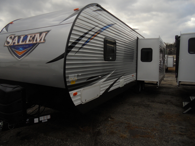 New Travel Trailer near Appalachian State University.
