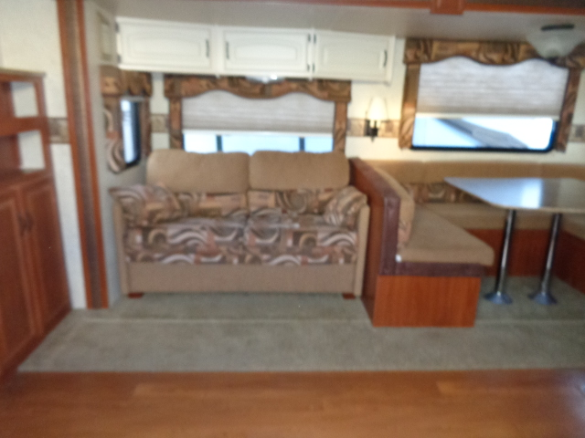 Pre Owned Travel Trailer within driving distance of the Blue Ridge Parkway.