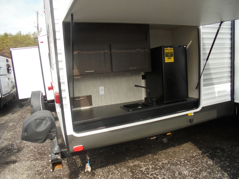 New Travel Trailer near Wilkesboro, NC.