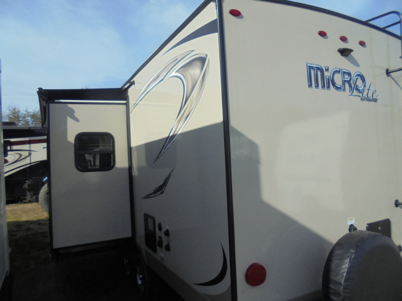 New Camping Trailers within driving distance of the Blue Ridge Parkway.