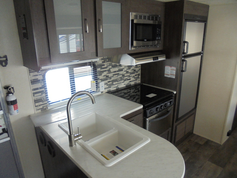 New Camping Trailers within driving distance of Elkin, NC.