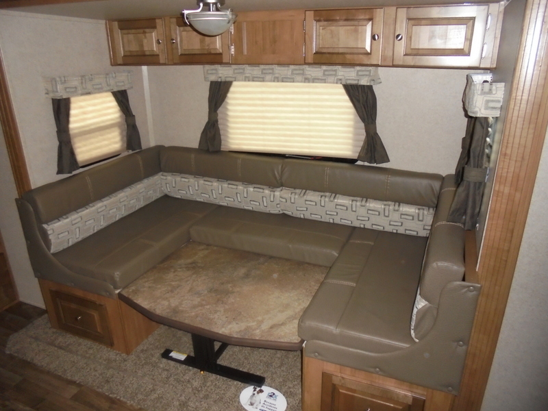 New RVs in the North Carolina Foothills.