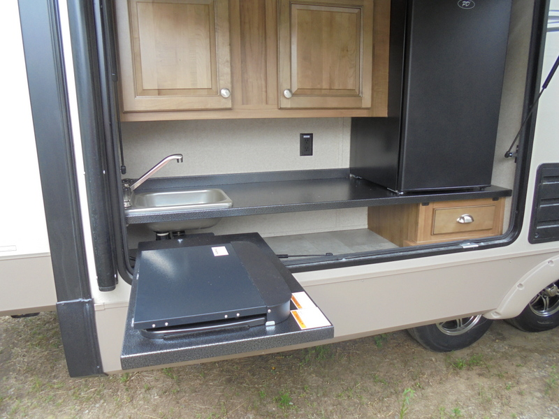 New Travel Trailer near Appalachian State University.