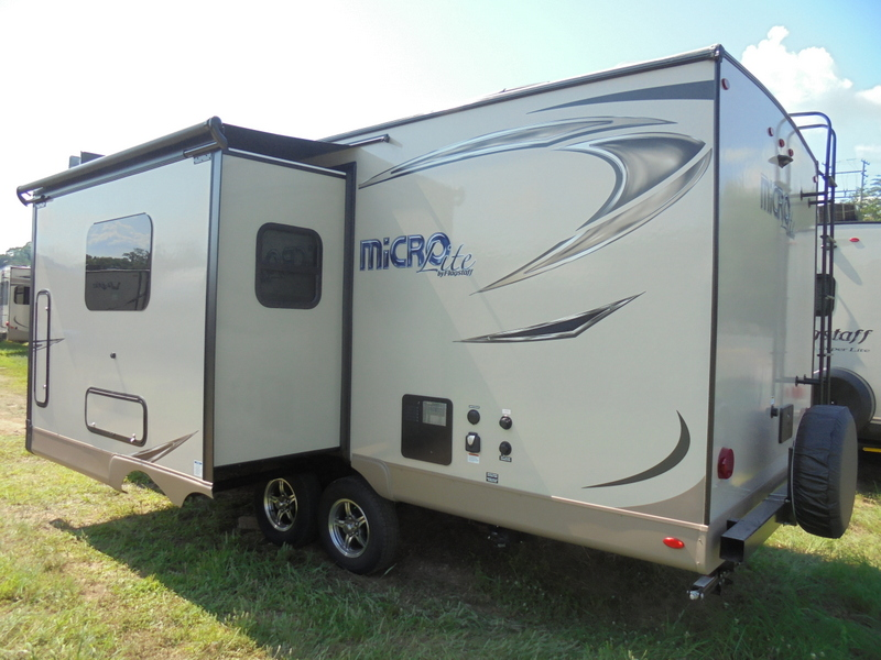 New Camping Trailers near Ashe County, NC.