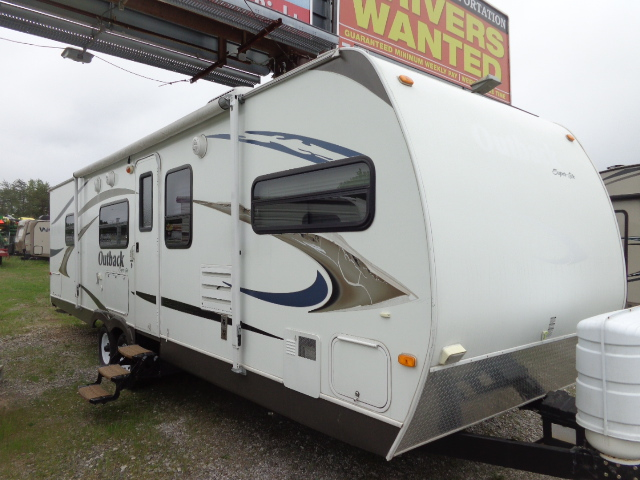 Pre Owned Camping Trailers in North Wilkesboro, North Carolina.