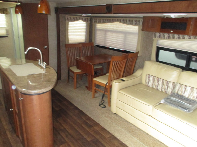 Pre Owned Travel Trailer in the North Carolina Foothills.