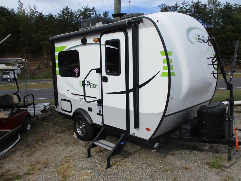 Pre Owned Camping Trailers in Wilkesboro, North Carolina.