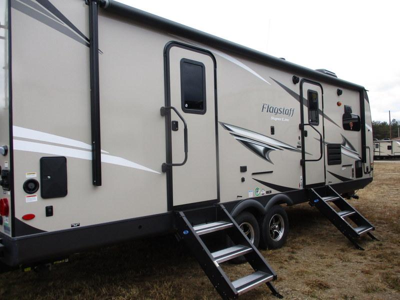 New Camping Trailers in Western North Carolina.