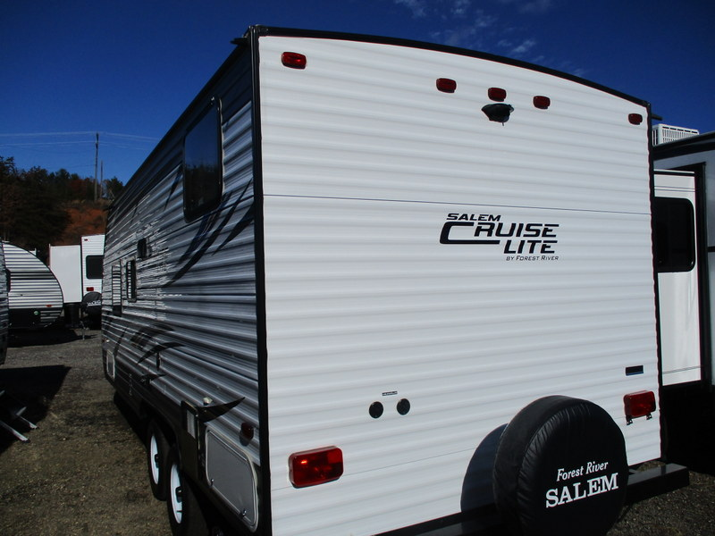 Pre Owned Travel Trailer in the North Carolina Mountains.