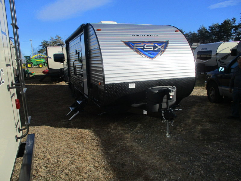 New Camping Trailers in Wilkesboro, North Carolina.