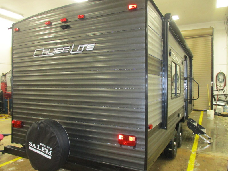 New Travel Trailer near North Wilkesboro, NC.