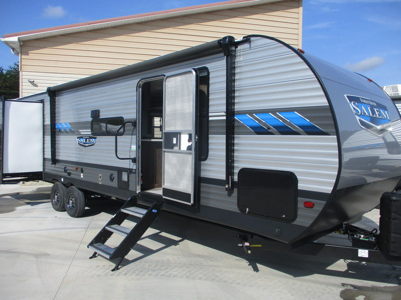 New Camping Trailers near Winston-Salem.