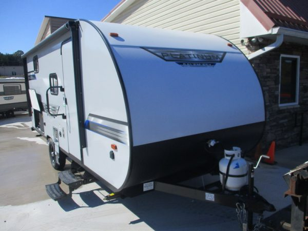 New Camping Trailers in the North Carolina Foothills.
