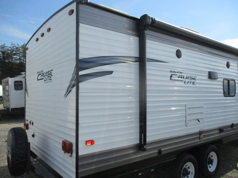 Pre Owned Camping Trailers within driving distance of the Blue Ridge Parkway.
