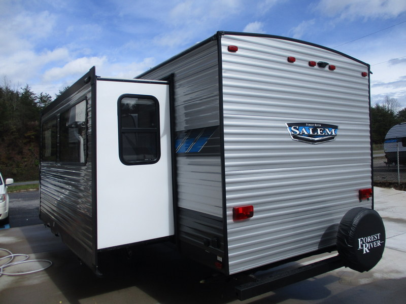 New Travel Trailer in the North Carolina Foothills.
