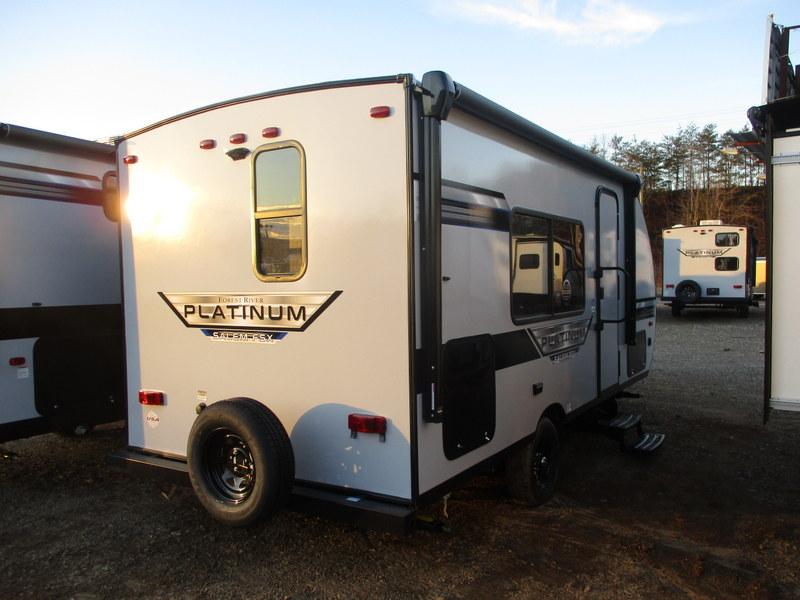 New Travel Trailer in Wilkesboro, North Carolina.