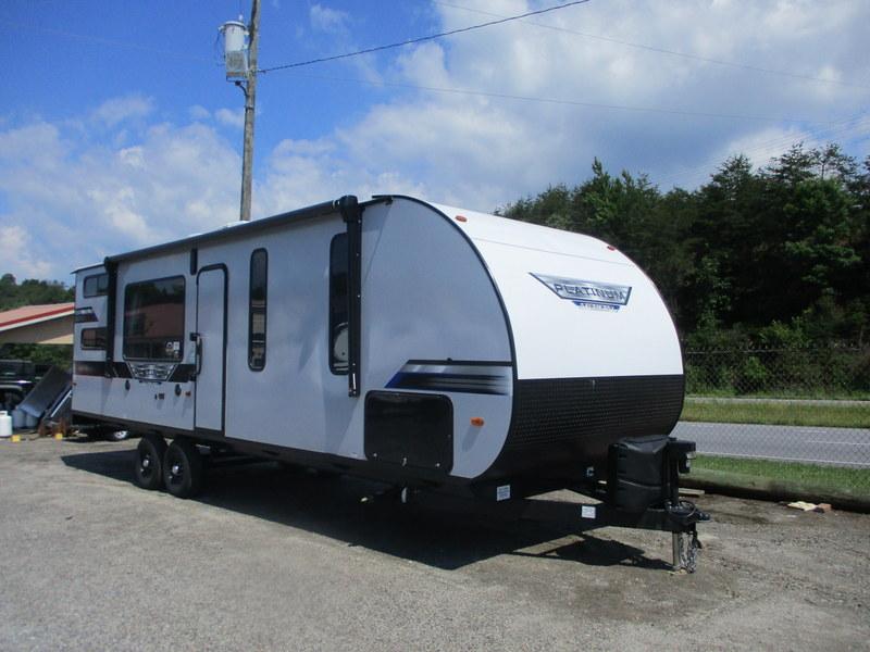 New RV in Wilkesboro, North Carolina.