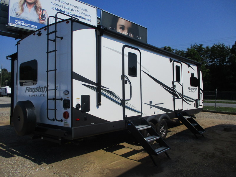 New RV within driving distance of the Blue Ridge Parkway.